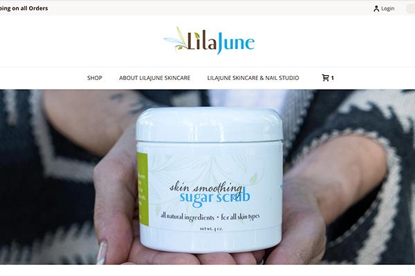 LilaJune site