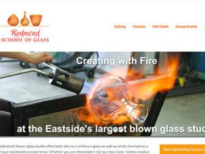 School of Glass site