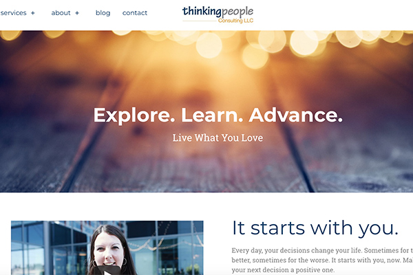 Thinking People Consulting site