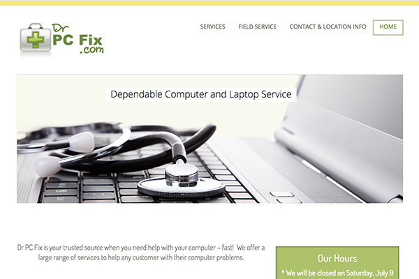 Dr PC Fix site