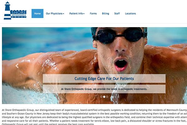 Shore Orthopedic Group site