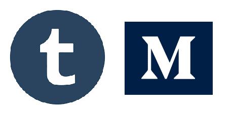 Tumblr and Medium