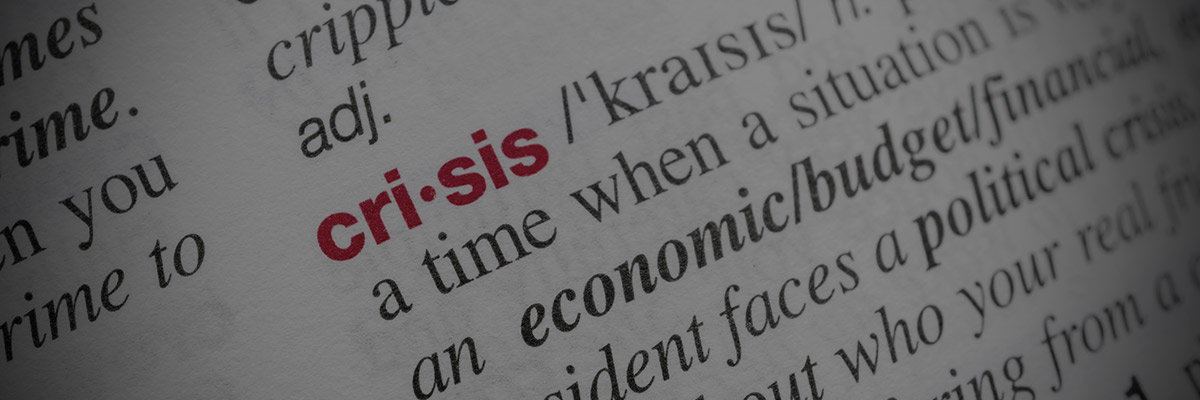 Planning marketing strategy during a crisis